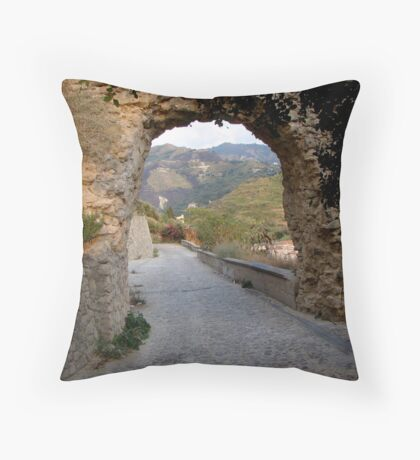 Gateway to Beauty Throw Pillow