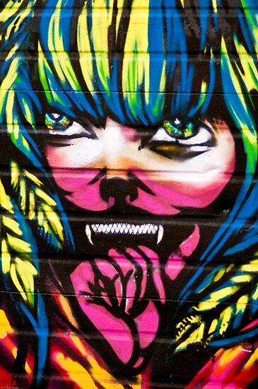 Graffiti Girl by Stacey Debono