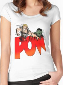 Bad Guys - POW Tee Women's Fitted Scoop T-Shirt
