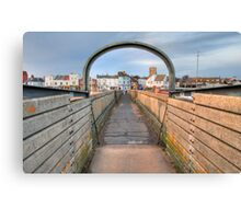 Bridge over Adur I Canvas Print