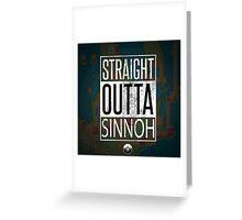 Pokemon - Sinnoh Region Greeting Card