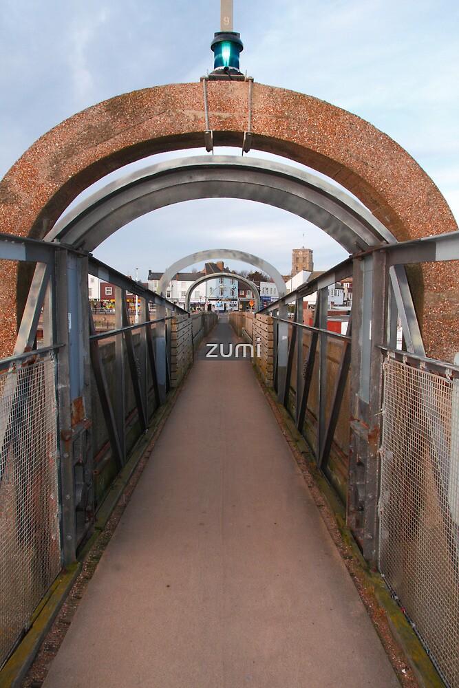 Bridge over Adur II by zumi