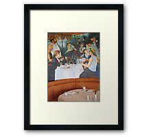 Luncheon Party Framed Print