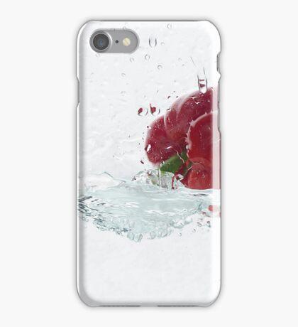 Capsicum Splash iPhone Case/Skin