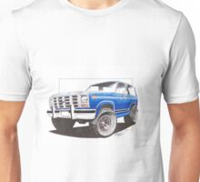 86 Ford Bronco  Unisex T-Shirt