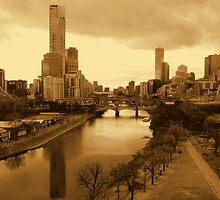 Glimpse of Melbourne by Rozita