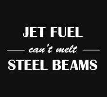 jet fuel cant melt steel beams (white) by jiveturkeysean