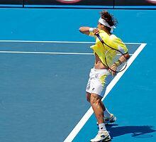 Ferrer forehand by James Muller