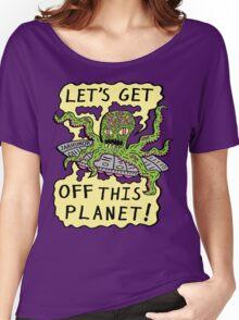 Alien UFO Escape Women's Relaxed Fit T-Shirt