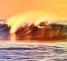 Fiery Wave by Mariann Kovats