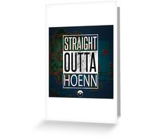 Pokemon - Hoenn Region Greeting Card