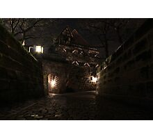 Spring night - Nürnberger Burg Photographic Print