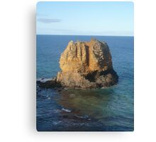 Lonely Rock Canvas Print