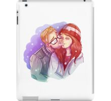 Chris + Ashley - None of it was Wasted iPad Case/Skin