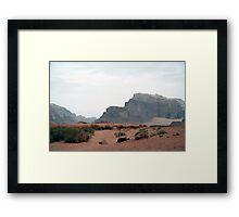Wadi Rum Framed Print