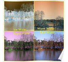 Water Temperatures Poster
