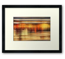 Tahoe Abstract Framed Print
