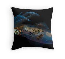 Southern Calamari Squid Throw Pillow