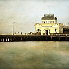 ~ Old Pier - St Kilda ~ by Lynda Heins