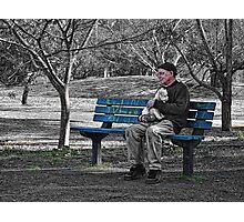 Alone With My Best Mate Photographic Print
