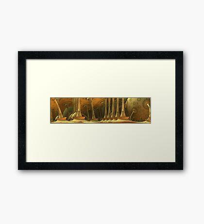 Divorced Environment Framed Print
