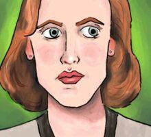 Dana Scully (transparent) Sticker