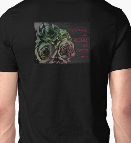 The Edge Of The Petal Unisex T-Shirt