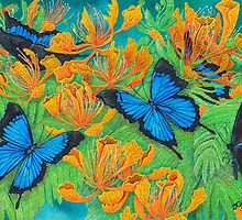 'Blue Brilliance' by Jules Summers