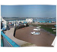 Sea Side South Coast England Poster
