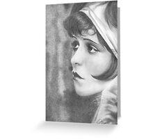 Clara Bow Greeting Card