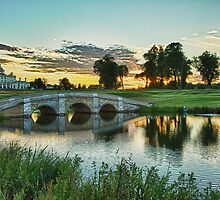 Stoke Poges Bridge - HDR  by LeeMartinImages