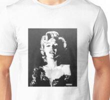 Marilyn Monroe in Graphite Pencil Unisex T-Shirt