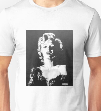 Marilyn Monroe in Graphite Pencil Unisex T-Shirt