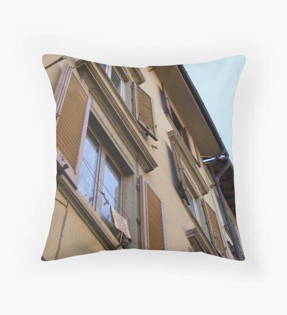 Italian Apartments Throw Pillow