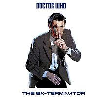 DR WHO - The Ex Terminator Photographic Print