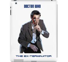 DR WHO - The Ex Terminator iPad Case/Skin