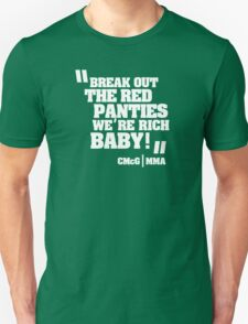Conor McGregor - Quotes [Red Panties] T-Shirt