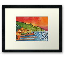 View of Amalfi Framed Print
