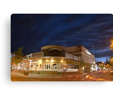 A Local Favourite Closed for the Night! Canvas Print