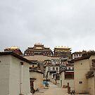 Songzanlin Monastery Shangri-La by Susan Moss
