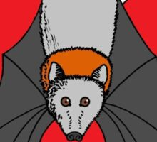 Love Flying Foxes Sticker