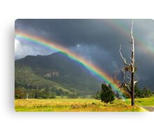 A Lost World and a Pot of Gold Canvas Print