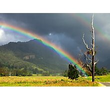 A Lost World and a Pot of Gold Photographic Print