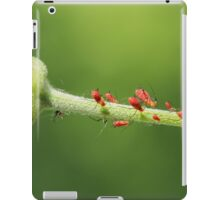 Red Aphids iPad Case/Skin