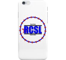 Rowan County Student Leaders Logo - Product Branding iPhone Case/Skin