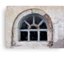 Window in Oia Canvas Print