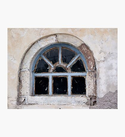 Window in Oia Photographic Print