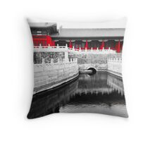 Forbidden City, Beijing, China Throw Pillow