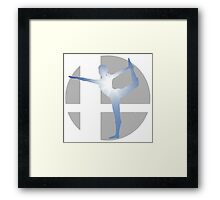 Sm4sh - Wii Fit Trainer Framed Print