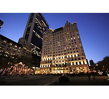 The Plaza, New York City Photographic Print